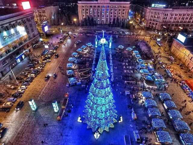 Массовых новогодних гуляний в Харькове не будет – горсовет