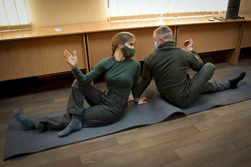 Сборы с военными психологами и капелланами прошли в Славянске